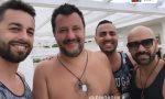 Veggian e Corigliano a Milano Marittima con Salvini