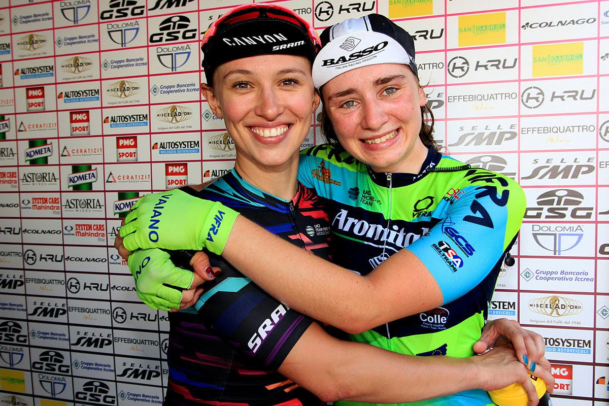 Ciclismo, Giro Rosa: vince Vos, Niewiadoma leader