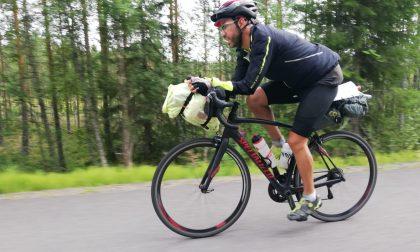 Arcorese dall'Italia a Capo nord in bicicletta