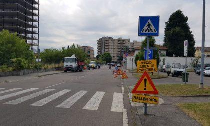 A Desio al via i lavori per garantire il transito in sicurezza nel quartiere San Giorgio