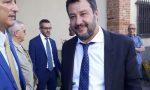 Matteo Salvini al matrimonio di una conduttrice tv FOTO