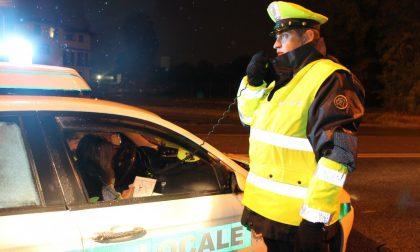 Multata dalla Polizia locale mentre abbandona rifiuti
