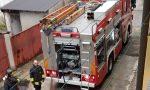 Incendio a Mezzago, anziana chiama i soccorsi