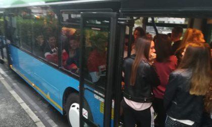 Odissea sul bus per gli studenti della Z309 FOTO