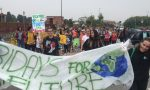 Fridays for future: 300 studenti in sciopero per il clima a Vimercate FOTO VIDEO