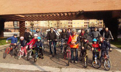 Settimana Europea della mobilità, sindaco e assessori in Comune in bicicletta