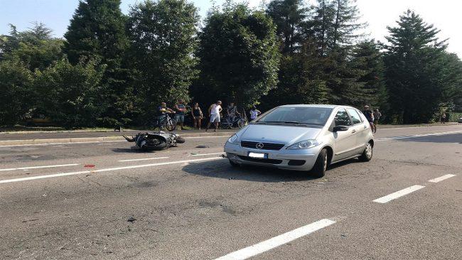 Incidente a Mariano deceduto motociclista giussanese FOTO