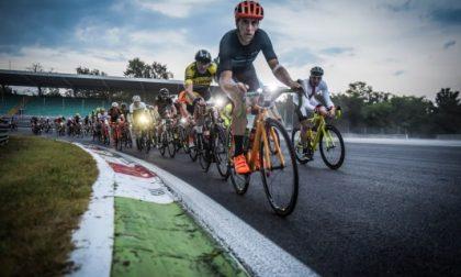 In Autodromo di corsa e in bicicletta