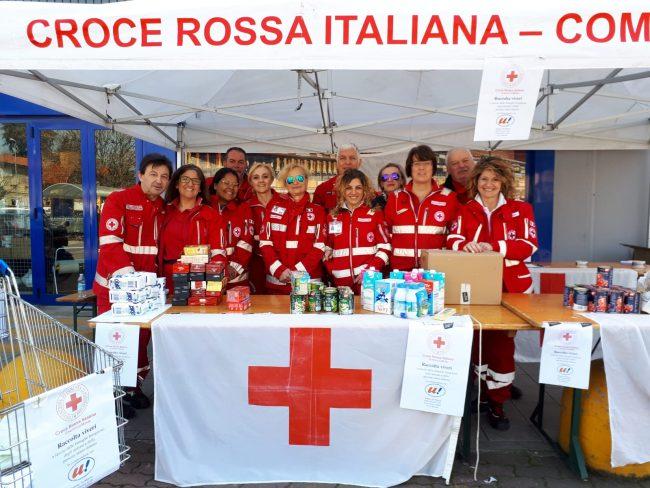 Croce Rossa: una raccolta viveri per le famiglie bisognose