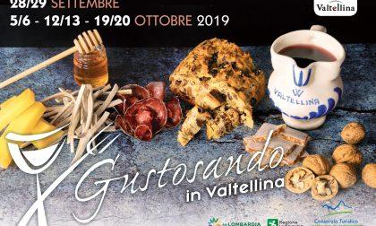 Tornano gli itinerari di Gustosando in Valtellina