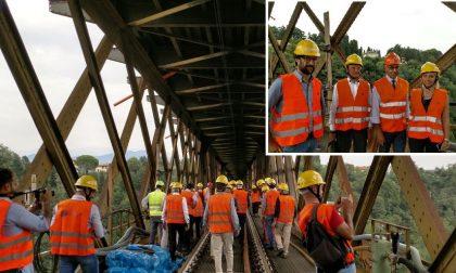 Ponte di Paderno, apertura ad auto e moto anticipata all'8 novembre FOTO E VIDEO