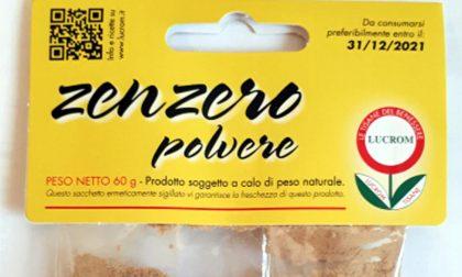 Zenzero in polvere contaminato da salmonella, richiamato