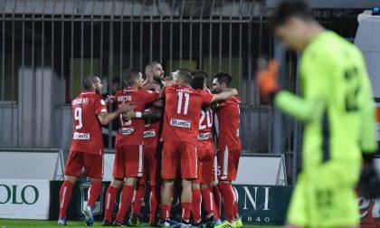 """Monza-Gozzano la partita in diretta, i biancorossi """"sfondano"""" anche il muro rossoblu – FOTO"""