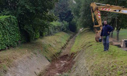 Rio Molgorana: quasi conclusi i lavori di pulitura
