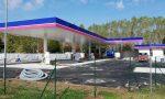 Quasi pronto il nuovo distributore di benzina alla Corrada