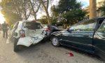 Maxi tamponamento e feriti a Monza FOTO