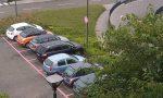 Parcheggi riservati alle donne all'ospedale di Vimercate