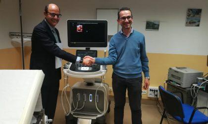 Un nuovo e moderno ecografo per il Consultorio di Ginecologia di Brugherio FOTO