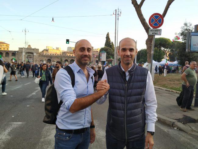 Andrea Villa con Luca Santambrogio