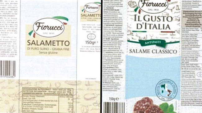 Fiorucci salame