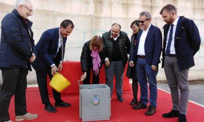 Posata la prima pietra del nuovo palazzetto dello sport