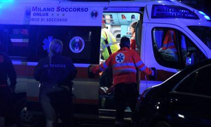 Vimercate, incidente all'alba: due persone soccorse