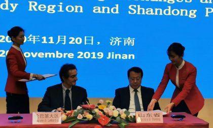 Visita del governatore Fontana in Cina: ponte fra Lombardia e Shandong