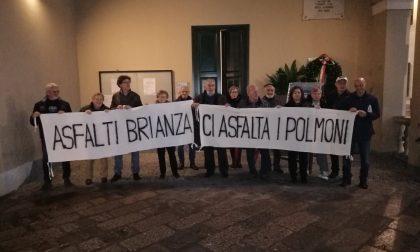 Comitato di Quartiere Sant'Albino in piazza contro Asfalti Brianza