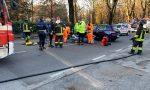 Carate Brianza, moto contro auto: grave 14enne
