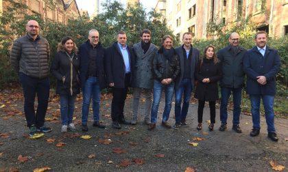 Le Commissioni Regionali Ambiente e Antimafia visitano l'ex Snia di Varedo FOTO