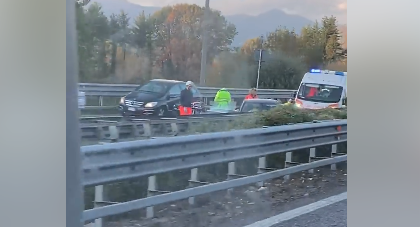 Incidente in Statale 36: arriva l'elisoccorso per un 55enne