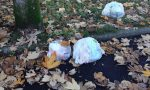 Scarica rifiuti nel giardino della scuola viene identificato e multato