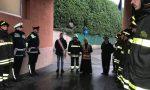 Carate, le sirene salutano i pompieri morti ad Alessandria VIDEO