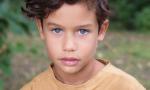 Vittorio, a 8 anni baby modello per Armani