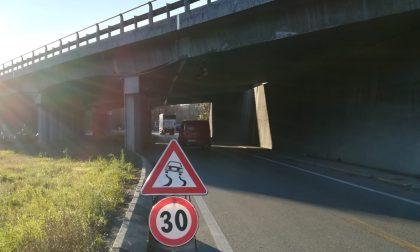 Camion contro viadotto della Statale 36: riaperta la Provinciale 342 FOTO