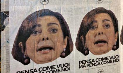 Anche a Seregno i manifesti contro l'onorevole Boldrini
