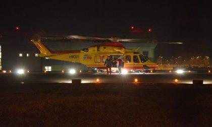 Grave incidente nella notte a Roncello