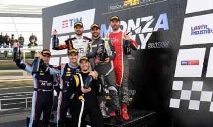 Andrea Crugnola è il re del Monza Rally Show FOTO