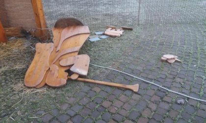 Vandali in azione a Concorezzo, distrutto il presepe della chiesa di Sant'Eugenio