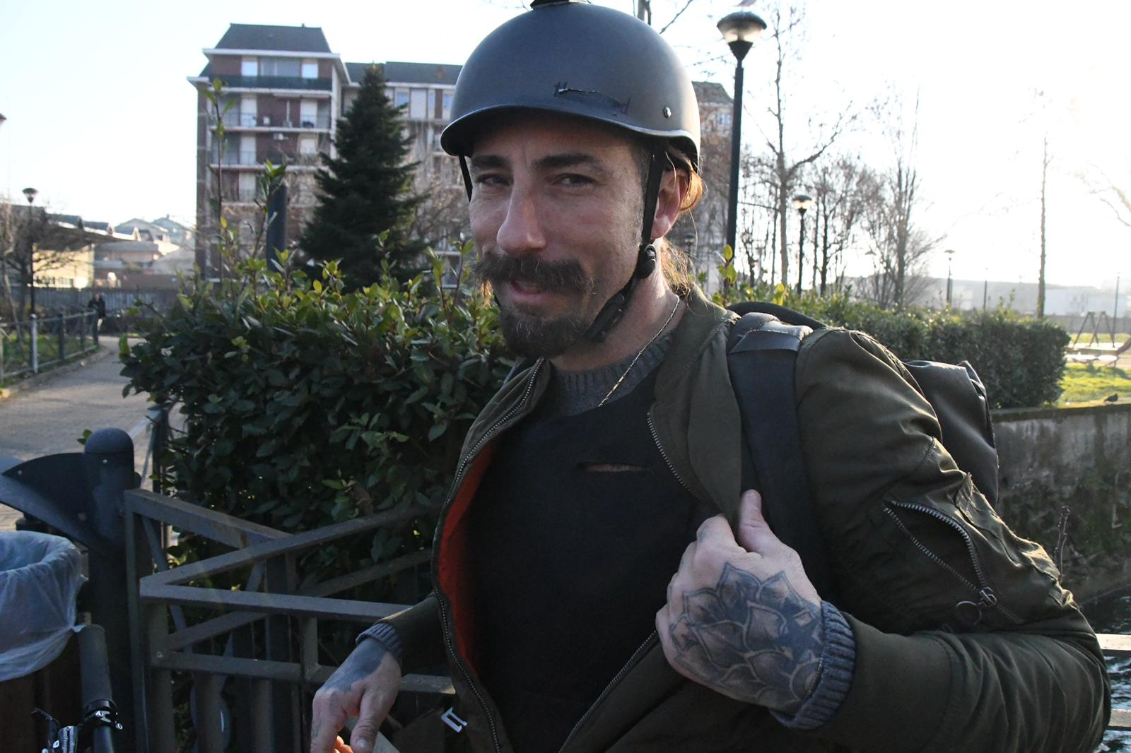 Vittorio Brumotti racconta l'aggressione subita a Monza