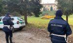 L'elisoccorso è atterrato nel parco di villa Cusani