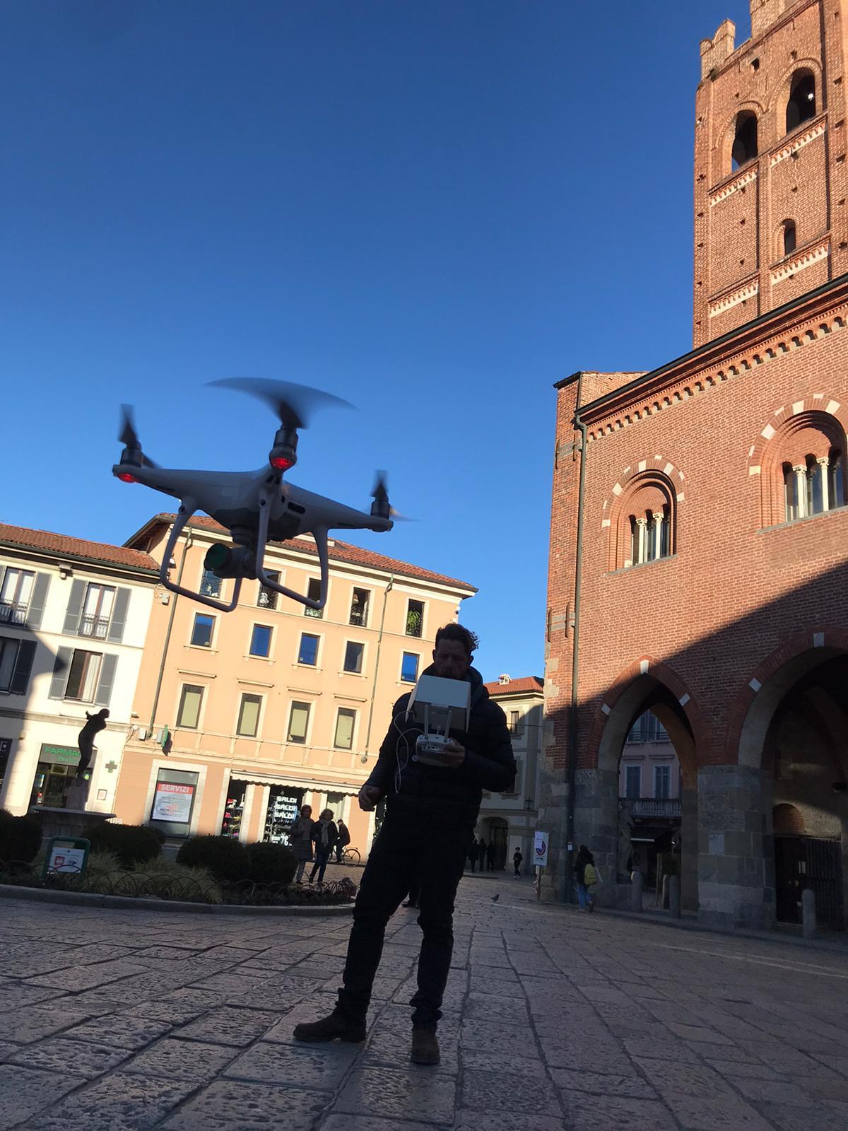 Monza su Rai Uno, telecamere nel cuore del centro storico FOTO