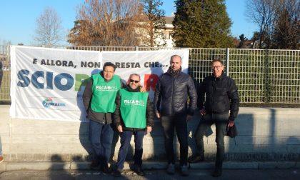 Meda e Lentate sul Seveso, presidio dei lavoratori contro Federlegno