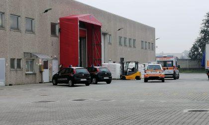 Altro infortunio sul lavoro: 51enne soccorso a Ornago