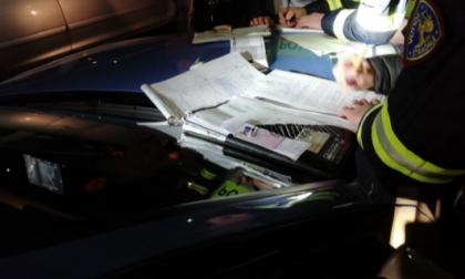 Fine settimana di controlli sulle strade della Brianza: sei patenti ritirate