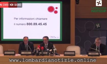 Coronavirus: sei decessi e nuovi contagi in Lombardia NOTIZIA IN AGGIORNAMENTO