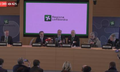 Coronavirus Lombardia: la conferenza stampa in Regione DIRETTA VIDEO