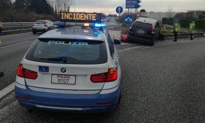 Incidente in Statale 36 all'altezza di Giussano: code verso Milano