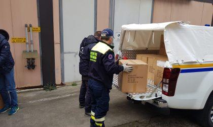 BrianzAcque dona 1.300 borracce alla Protezione civile