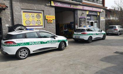 Sanificazione gratuita sulle vetture di Forze dell'ordine e volontari